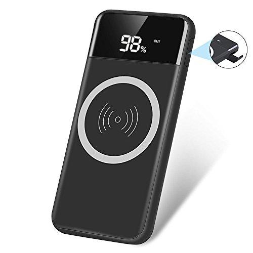 Vicstar モバイルバッテリー ワイヤレス 充電 Qi対応...