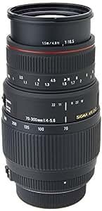 SIGMA 望遠ズームレンズ APO 70-300mm F4-5.6 DG MACRO ニコン用 フルサイズ対応 508555