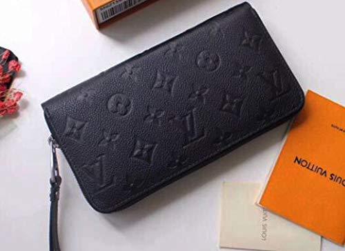 長財布モノグラムラウンドファスナー財布ウォレットカード入れ男女兼用