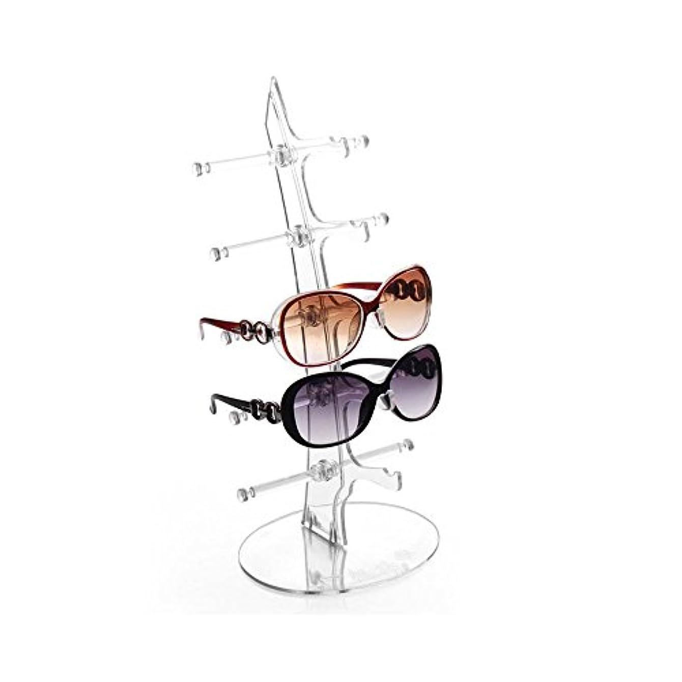 ベール中級シュガーHongch 眼鏡 デイリー用ディスプレイスタンド サングラスホルダーラック 眼鏡