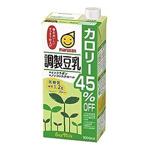 マルサン 調製豆乳 カロリー45%オフ 1L×6本の関連商品1