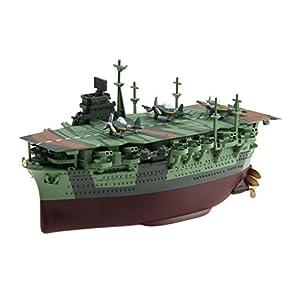 フジミ模型 ちび丸艦隊シリーズ No.15 瑞鶴 全長約11cm ノンスケール 色分け済み プラモデル ちび丸15