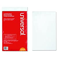 Clear Laminating Pouches, 3 mil, 9 x 14 1/2, 25/Pack (並行輸入品)