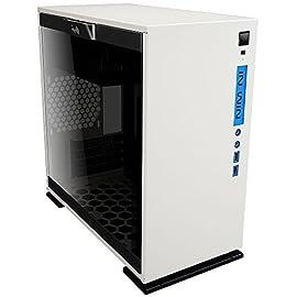 IN WIN 強化ガラス製サイドパネル採用 ミニタワーPCケース 301 ホワイト (型番:IW-CF07W 301-White)