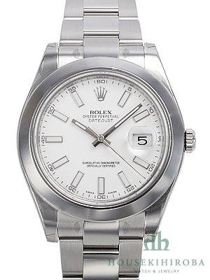 [ロレックス]ROLEX 腕時計 パーペチュアル デイトジャストII ホワイトバー 116300 メンズ [並行輸入品]