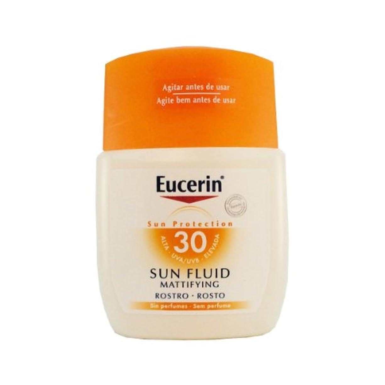救急車ラテン自然公園Eucerin Sun Mattifying Face Fluid Spf30 50ml [並行輸入品]