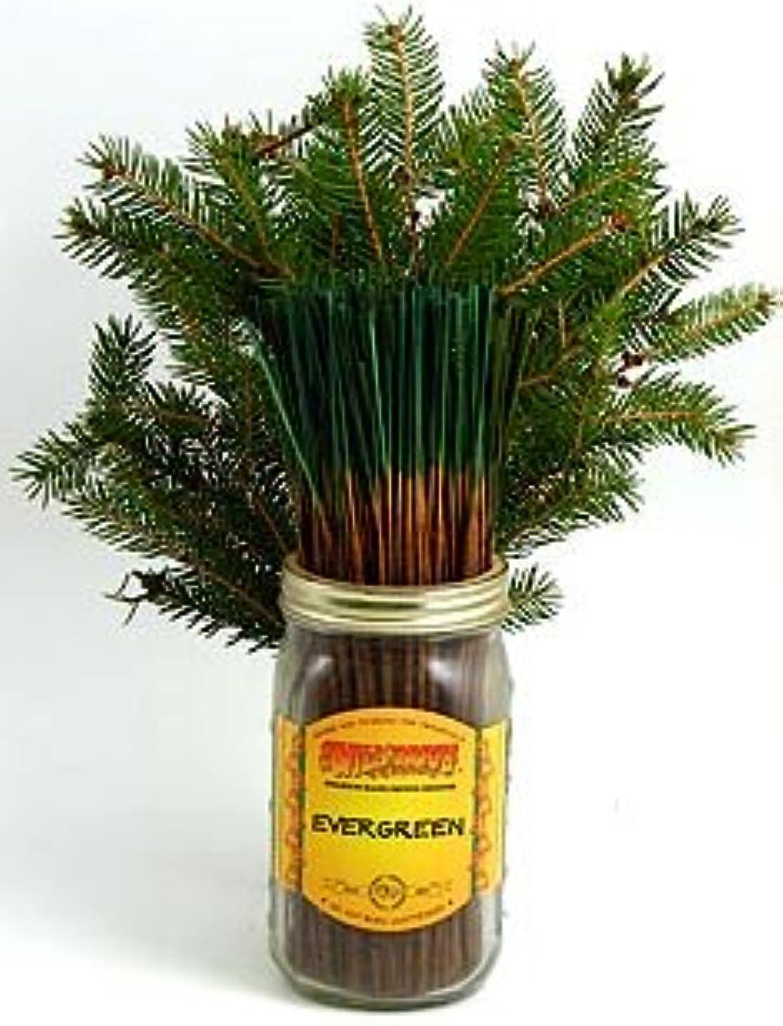 強います流出産地Evergreen – 100ワイルドベリーIncense Sticks