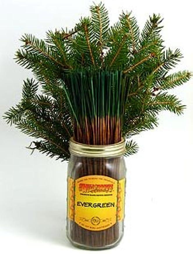 勝利パテ大いにEvergreen – 100ワイルドベリーIncense Sticks