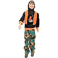 Damara 人形用 消防士 服 迷彩ズボン カッコいい 着せ替え 子供