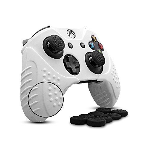 CHINFAI XboxOne コントローラー カバー シリコン スキン ケース 耐衝撃保護 カバー...