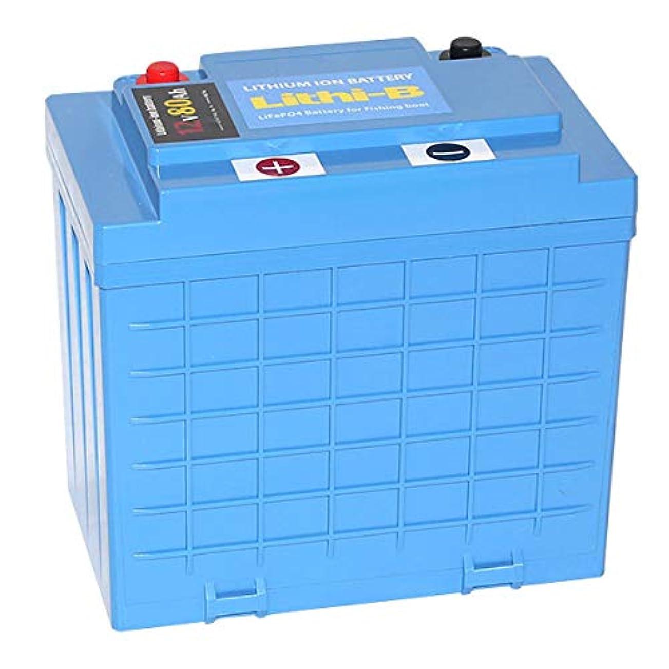 修復コンテンポラリープログラムLifePO4 リチウムバッテリー リチビー(Lithi-B) 12V 80Ah