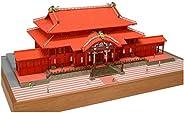 ウッディジョー 1/150 首里城 木製模型 組み立てキット