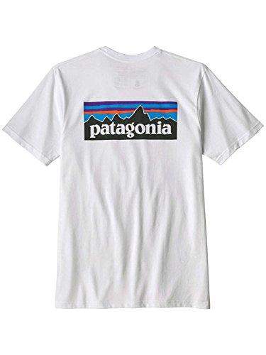 パタゴニア トップス Tシャツ Patagonia M's P-6 Logo Pocket Responsibili-Tee US-S [並行輸入品] (WHI, S)