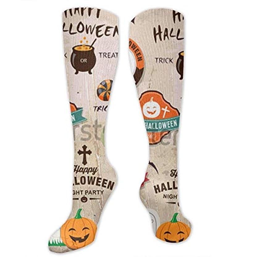 甘味衰える法律靴下,ストッキング,野生のジョーカー,実際,秋の本質,冬必須,サマーウェア&RBXAA Happy Halloween Design Socks Women's Winter Cotton Long Tube Socks...