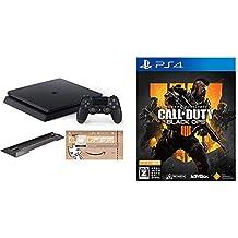 PlayStation 4 ジェット・ブラック 500GB (CUH-2200AB01) (Amazon.co.jp限定特典付) + 【PS4】コール オブ デューティ ブラックオプス 4【CEROレーティング「Z」】  セット
