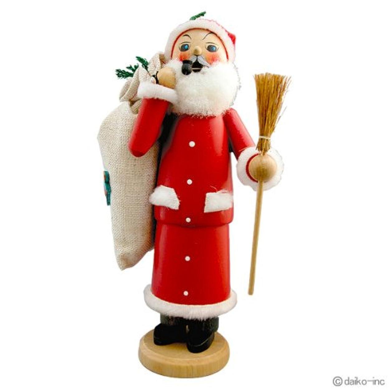 スーダン包括的によるとkuhnert(クーネルト) パイプ人形香炉 120×200mm 「サンタクロース」