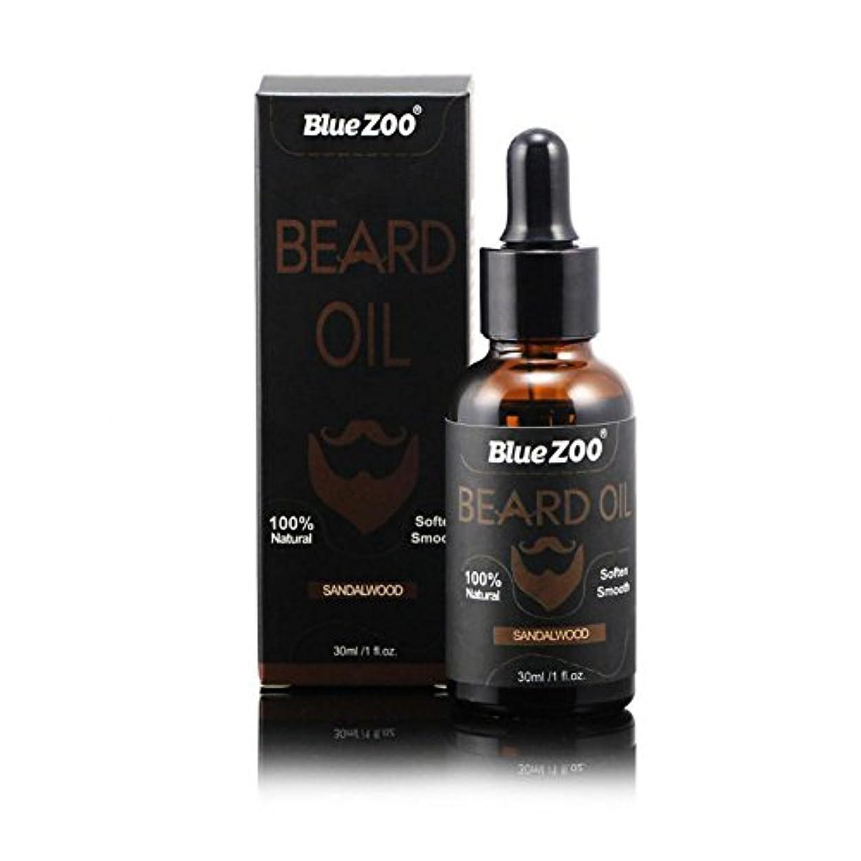 夜明け飾り羽ブラウズひげそり油男性のための滑らかな軟化と栄養シェイピングの口ひげ100%茶油ビタミンEのアンチかゆみ(#02)