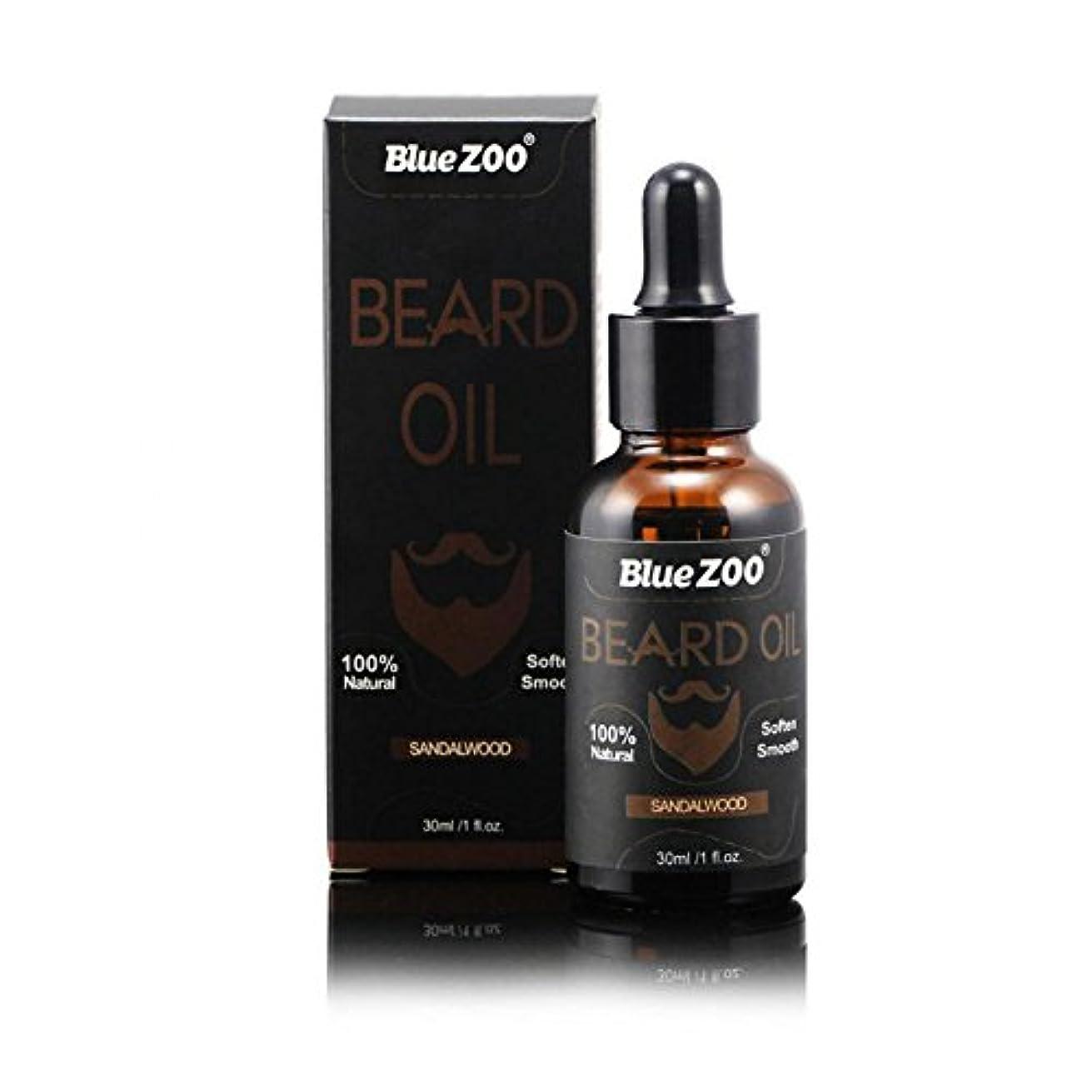 交換可能日曜日コンチネンタルひげそり油男性のための滑らかな軟化と栄養シェイピングの口ひげ100%茶油ビタミンEのアンチかゆみ(#02)