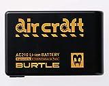 BURTLE バートル リチウムイオンバッテリー AC210 35 ブラック F