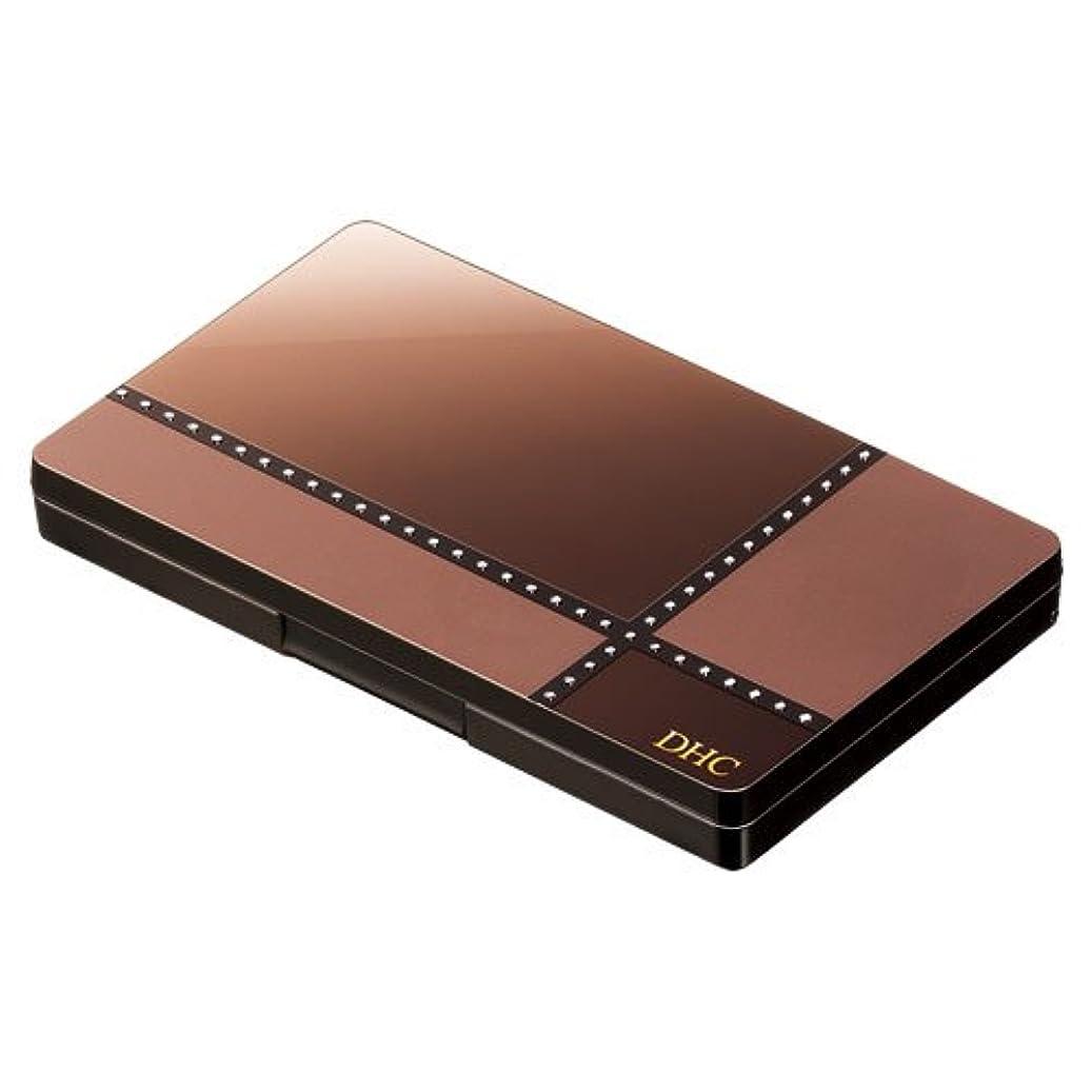 連結するスリーブグレーDHCパーフェクト アイシャドウパレット (GD06 ゴールドブラウン)