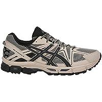 ASICS Mens Gel-Kahana 8 Running Shoe Grey/Black/Carbon 13 D(M) US
