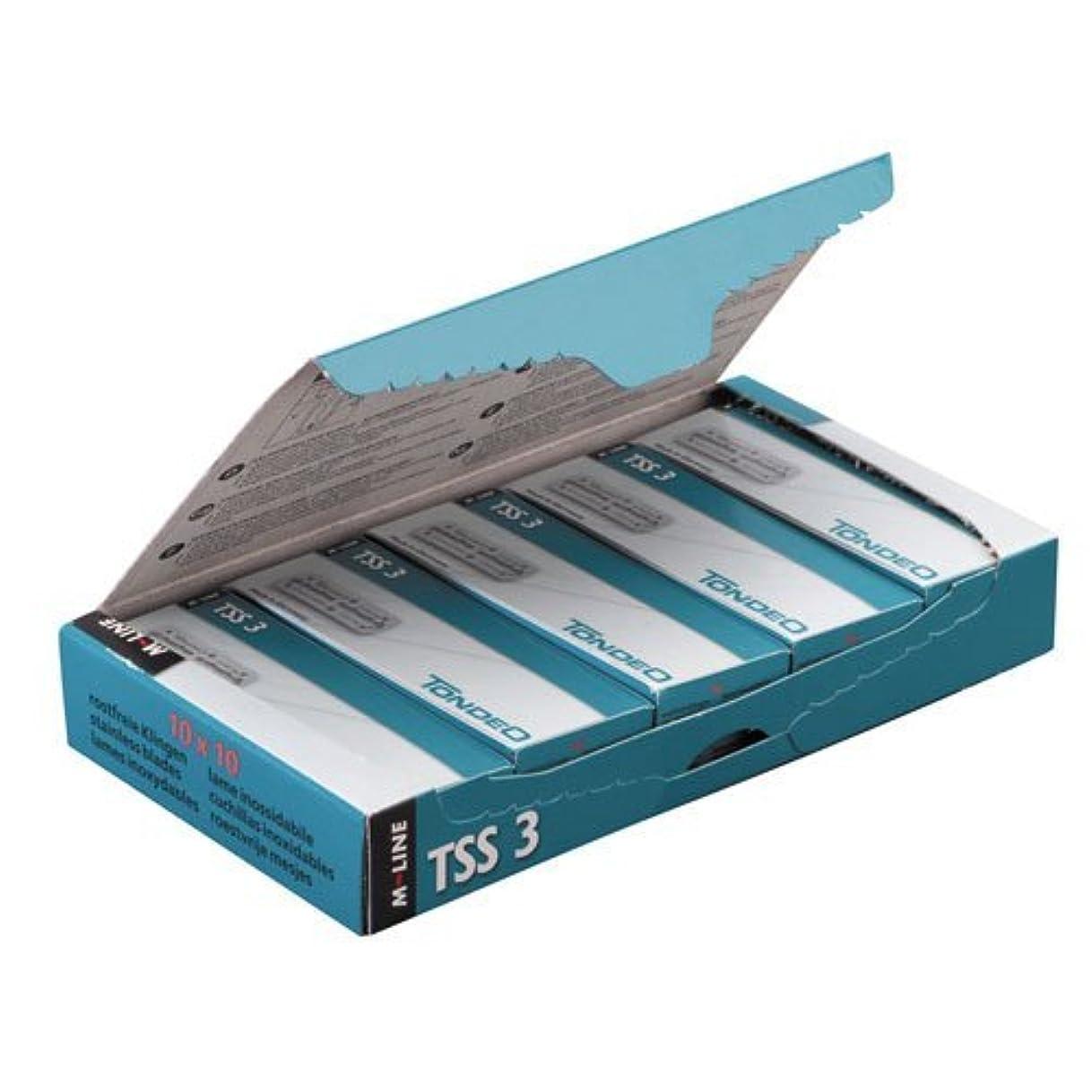 戸棚可塑性しなければならないTONDEO 替刃(大)TSS3(100枚入)