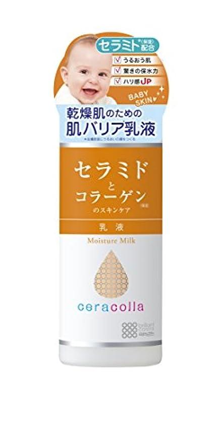 展示会長くするラダ明色化粧品 セラコラ 保湿乳液 145mL