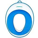 ベビーフート 補助便座 赤ちゃん 子供用トイレ便座  ソフトおまる 便座 トイレトレーニング (ブルー)