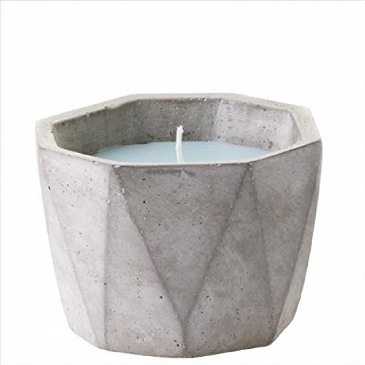 ピービッシュ小人ピカソカメヤマキャンドル(kameyama candle) POiNT A LA LiGNE セメントポットセンティッドキャンドル 「 モックオレンジミント 」