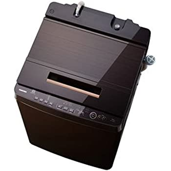 東芝 DDインバーター洗濯機 全自動 ZABOON 10kg グレインブラウン AW-10SD6 T