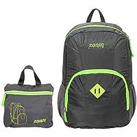 Zoomlite - Magic Lightweight Folding Backpack - Grey Lime b801008764