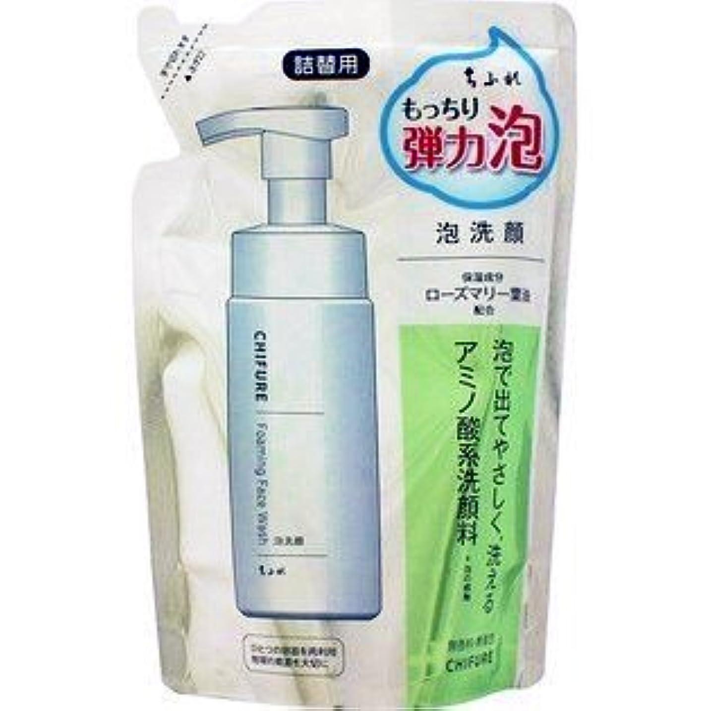 弱点味植生ちふれ化粧品 ちふれ 泡洗顔 詰替用 180ml