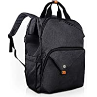 Hap Tim Laptop Backpack 15.6/14/13.3 inch Laptop Bag Travel Backpack for Women/Men Waterproof School Computer Bag Large Capacity Bookbag for College/Travel/Business (7651AU-DG)