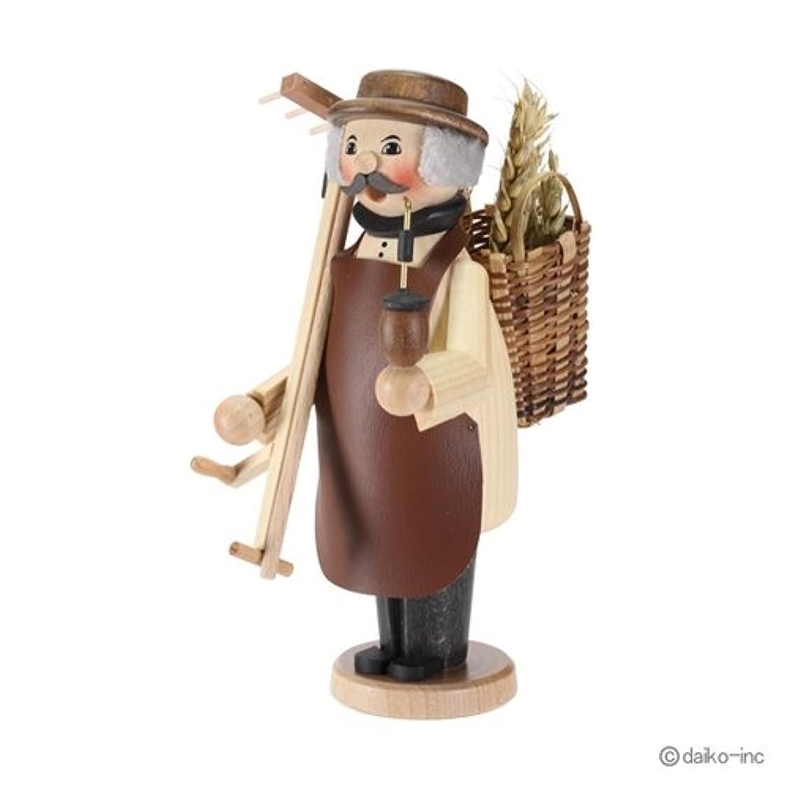 調べる不忠ひばりクーネルト kuhnert ミニパイプ人形香炉 農夫