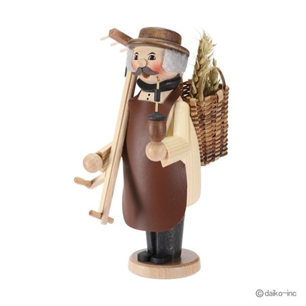 まともなスノーケル耕すクーネルト kuhnert ミニパイプ人形香炉 農夫