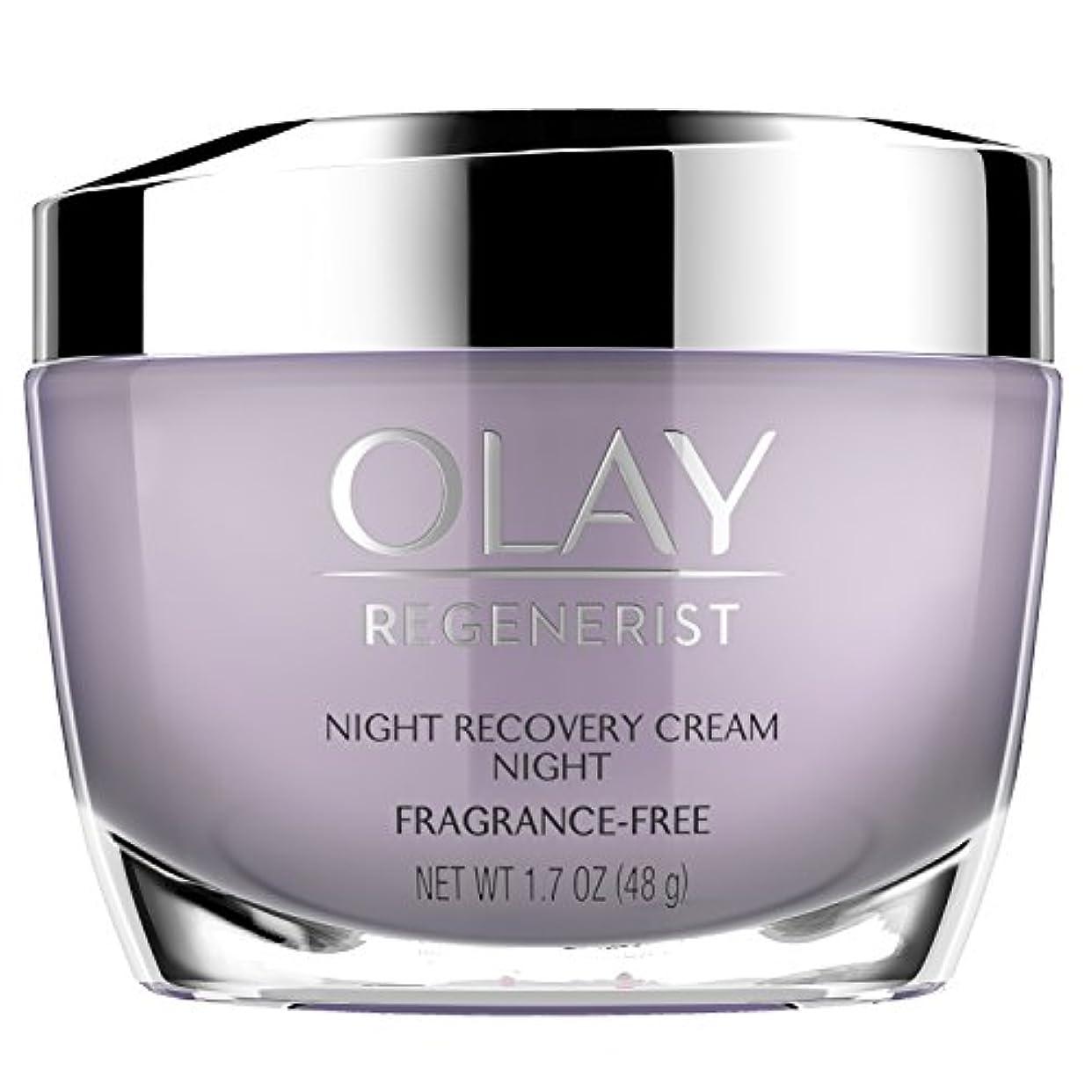 形容詞時粘液Olay Regenerist Night Recovery Night Cream Face Moisturizer 1.7 oz