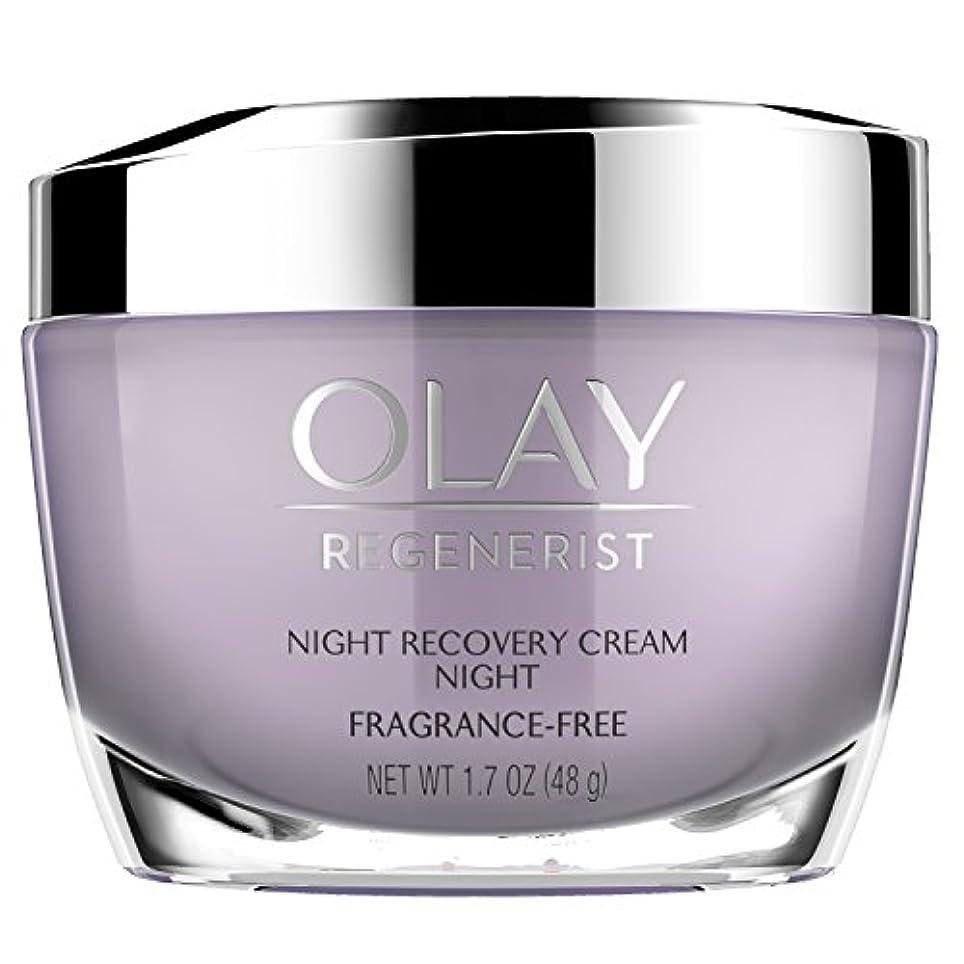 麻酔薬フィットネス省略Olay Regenerist Night Recovery Night Cream Face Moisturizer 1.7 oz