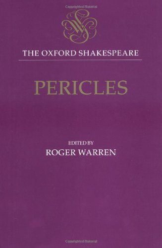 Pericles, Prince of Tyre (Oxford Shakespeare)