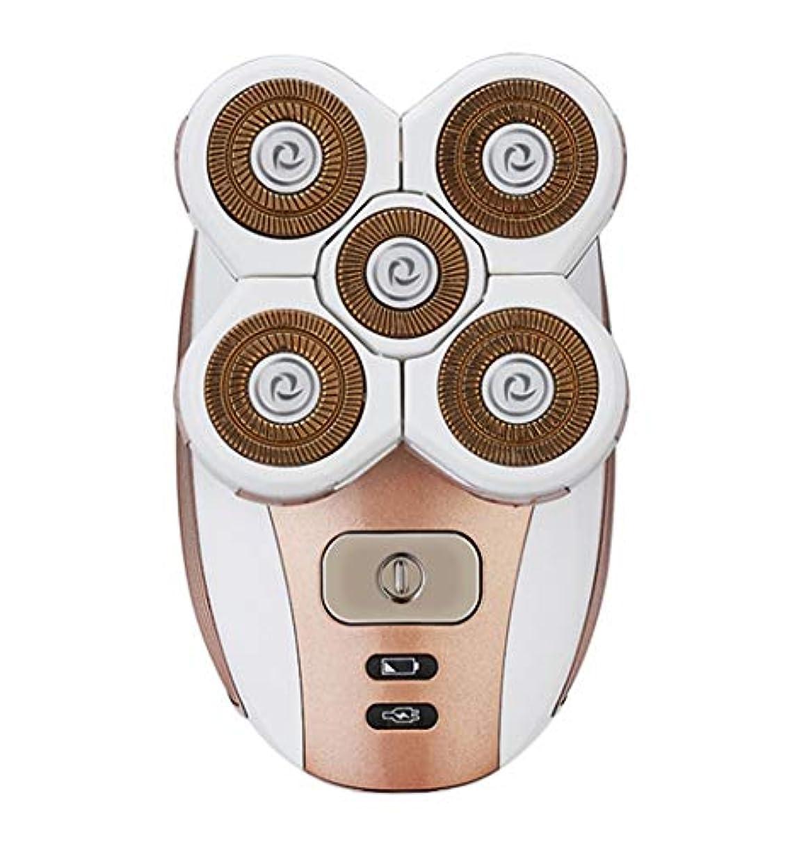 受け継ぐ任意恐ろしいKDJHP 電気脱毛装置プライベートパーツシェービング器具脇の下陰毛剃毛レディーシェーバー - 脱毛器 7103