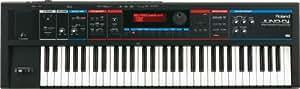 Roland ローランド モバイルシンセサイザー with Song Player JUNO-Di ブラック