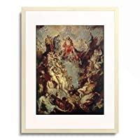 ピーテル・パウル・ルーベンス Peter Paul Rubens 「Das Grosse Jungste Gericht」 額装アート作品