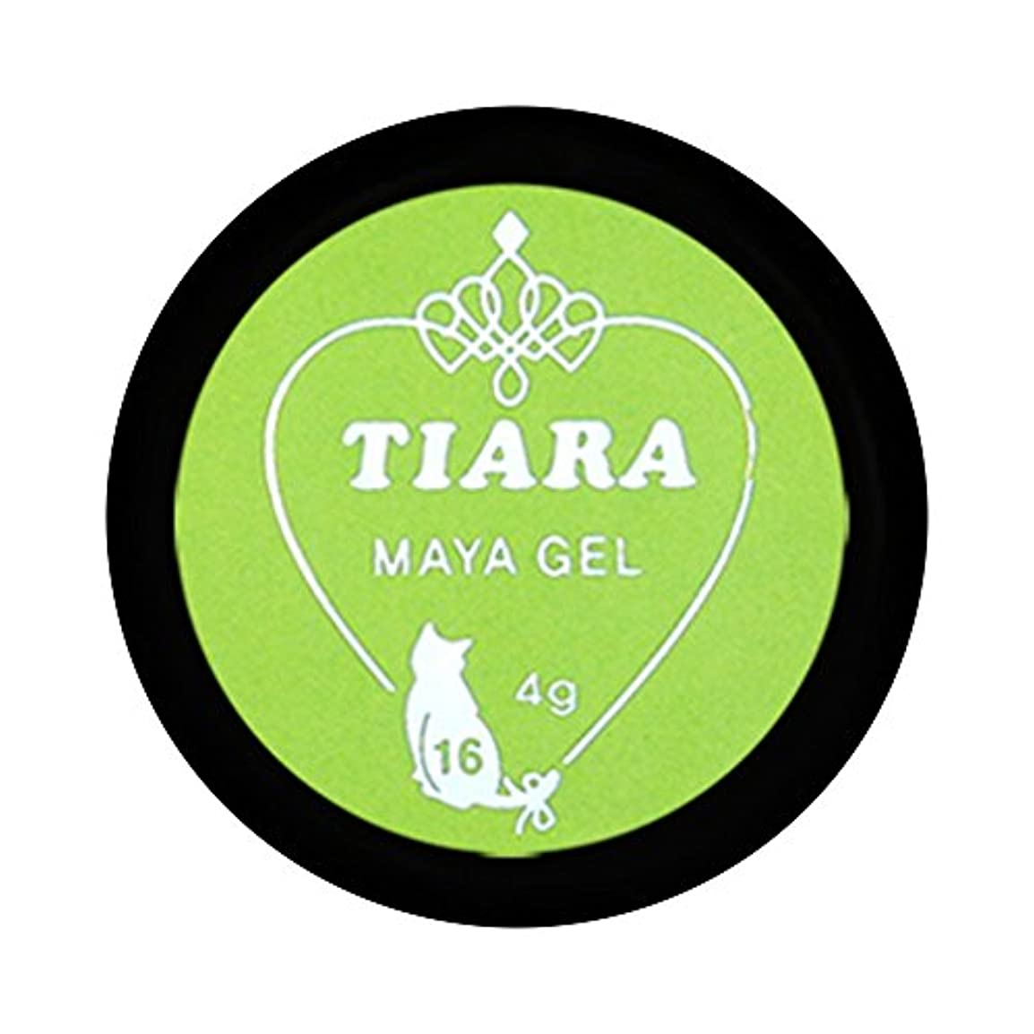 苛性ディスパッチ三十グラシア ジェルネイル ティアラ マヤジェル GM-016 4g