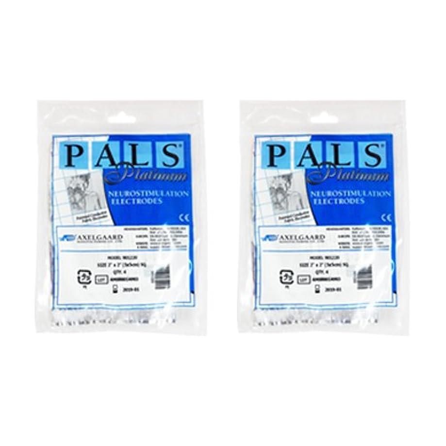 実質的コードレス元の敏感肌用アクセルガード ブルー Mサイズ × 2セット 【EMS用粘着パッド】