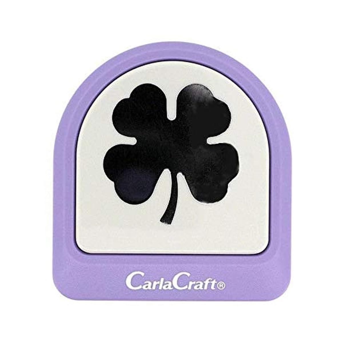 通訳例外クリーナーCarla Craft(カーラクラフト) メガジャンボクラフトパンチ クローバー CN45103(4100779)