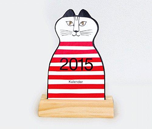 【2015年】Lisa Larson ミンミ型卓上カレンダー2015