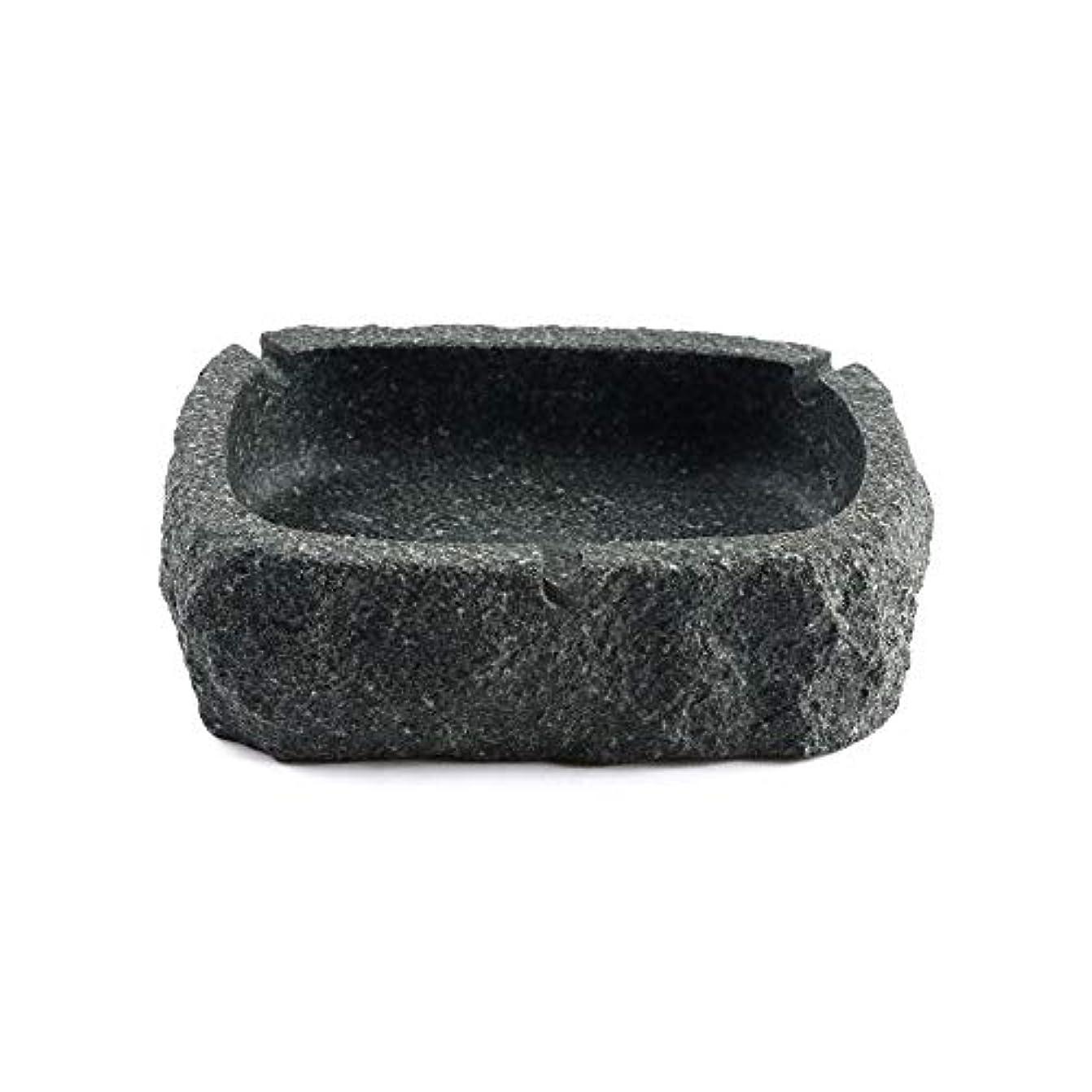 不満趣味心理的にパーフェクトブルーストーン灰皿ブラック灰皿