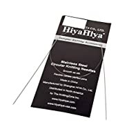 HiyaHiya 24インチ/ 60 cm x 1.75 mmステンレス固定丸針