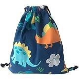 iSuperb Gym Sack Bag Drawstring Backpack Cute Animals Sport Bag Dancing Bag Shoulder Bag for Women Girls