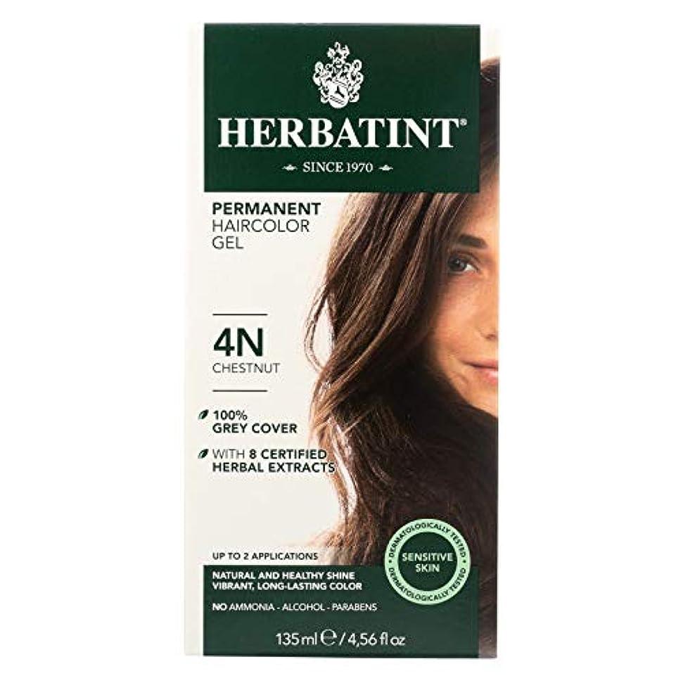 オズワルド名誉マーティンルーサーキングジュニア海外直送品Herbatint Permanent Chestnut (4n), 4 Oz by Herbatint