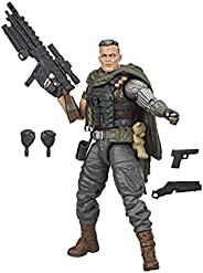 Hasbro Marvel Legends Series X-Men 6-inch Collectible Cable Action Figure Toy, Includes 5 Accessories, For Kid